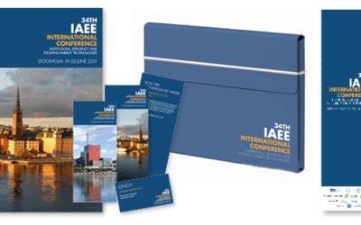 Designkoncept och produktion för IAEE-conference 2011