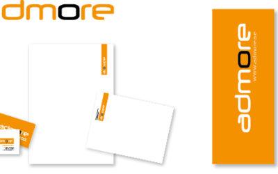 Admore uppdaterar sin grafiska profil