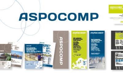 Det finska företaget Aspocomp har fått ny grafisk profil