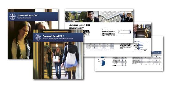 Årets upplaga av Placement Report för Handelshögskolan är formgiven och klar…