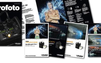 Satchmo formger och producerar Profoto's kampanj för nya Pro-B4.