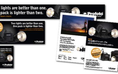 Kampanj för Profoto AcuteB Two-head Split Cable