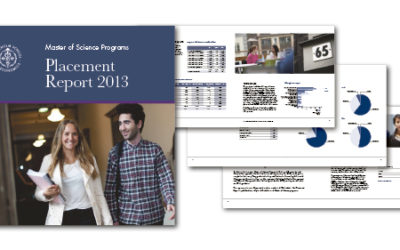 2013 års upplaga av Placement Report för Handelshögskolan är formgiven och klar…