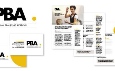 Nytt grafiskt uttryck åt Personal Branding Academy