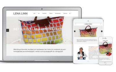 Ny webbsida för Lena Linn