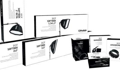 Nya förpackningar för Profotos OCF-familj