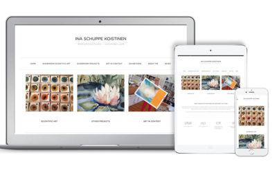 Ny webbsida för konstnären Ina Koistinen-Schuppe