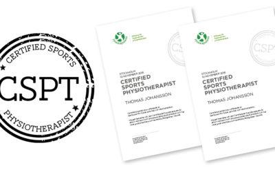Fysioterapeuterna har fått en symbol för CSPT