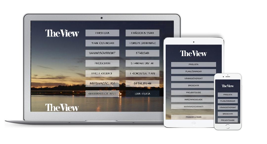 Kampanjsajt för The View